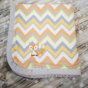 🦊 Fox Baby Blanket